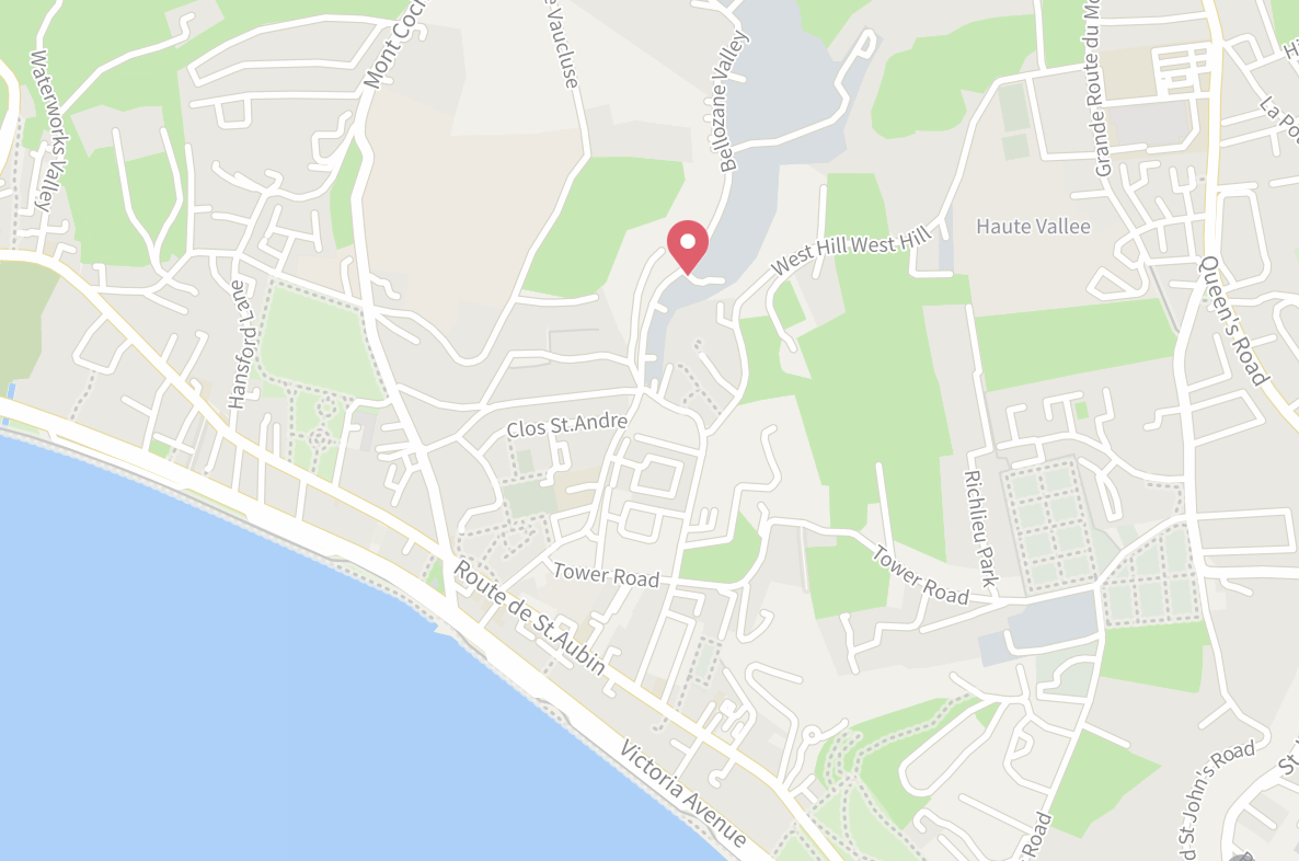 Jersey School of Motorcycling Map Location